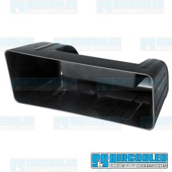 Glove Box, Black Plastic, Hidden Stereo
