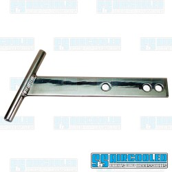T-Bars, Front or Rear, Aluminum, Polished