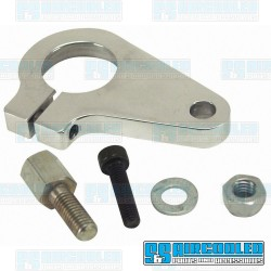 Clamp, Distributor, Aluminum, Polished