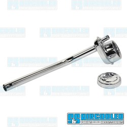 Oil Filler, Stock, Vent Tube & Cap, Chrome
