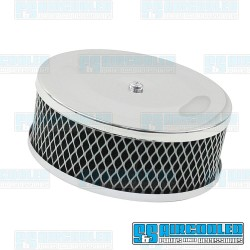 Air Filter Assembly, Stock/ICT/EPC, Round, Foam, Chrome