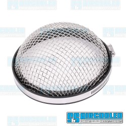 Air Intake Screen, Chrome