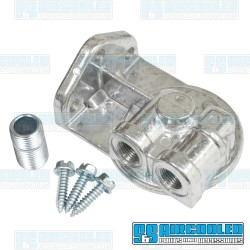 Oil Filter Adapter, 3/8in Left Ports