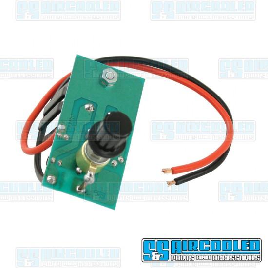 Wiper Control, 6 Volt to 12 Volt Conversion, Variable Speed