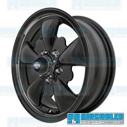 Wheel, GT-5, 5 Spoke, 15x5.5, 5x112 Pattern, Matte Black