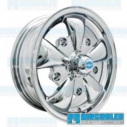 Wheel, GT-5, 5 Spoke, 15x5.5, 5x205 Pattern, Chrome
