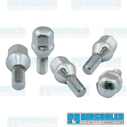 Lug Bolt, M12-1.5, 60 deg. Taper, Chrome