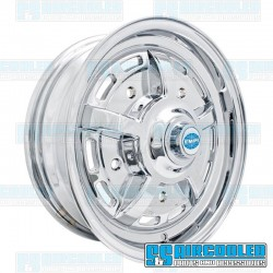 Wheel, Sprintstar, 15x5, 5x205 Pattern, Chrome