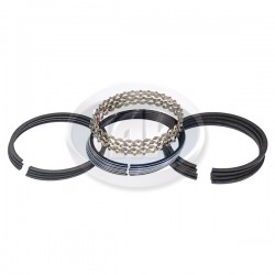 Piston Ring Set, 93mm (2mm x 2mm x 4mm), Cast Top Ring