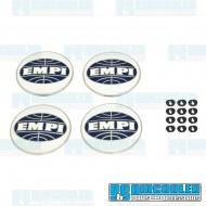 Center Cap, 3-Prong w/EMPI Logo for Hub Cap