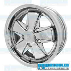 Wheel, Porsche 911 Alloy, 15x6, 5x130 Pattern, Chrome