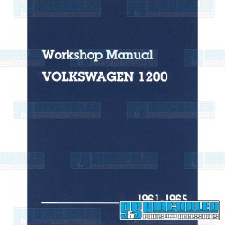 Repair Manual, Bug & Karmann Ghia 1961-1965
