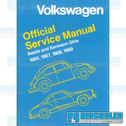 Repair Manual, Bug & Karmann Ghia 1966-1969