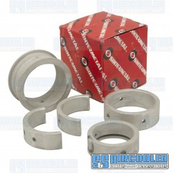 Main Bearings, 25-36HP, Standard Case/.010 Crank, Standard Thrust, Sintermetal
