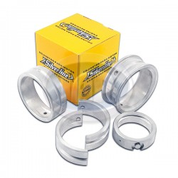 Main Bearings, .020 Case/.010 Crank, Double Oversize Thrust