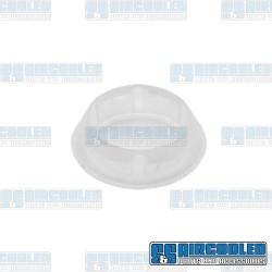 Door Hinge Screw Cover, Upper or Lower, Left or Right, White
