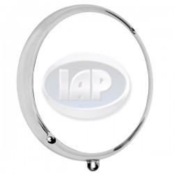 Headlight Trim Ring, Diagonal Screws(2 and 7), Chrome