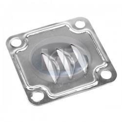 Deflector Plate, Alt/Gen Stand, 12-1600cc, Metal