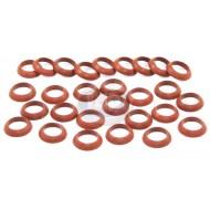 Seal, Push Rod Tube, 12-1600cc, Red, Brazil