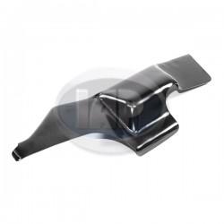 Deflector Tin, Mounts Under Rear Tin, Right, Black