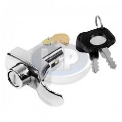 Decklid Lock, 3 Screw, w/Keys