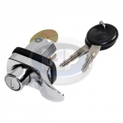Decklid Lock, 1 Screw, w/Keys