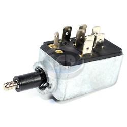 Headlight Switch, 8-Terminal, Push/Pull, 10mm Escutcheon