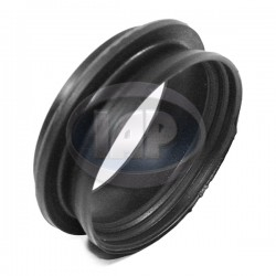 Torsion Arm Seal, Lower, Left or Right, Rubber