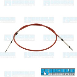Accelerator/Control Cable, 10ft Length, Morse Style