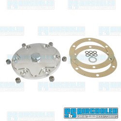 Sump Plate, Billet Aluminum, Polished