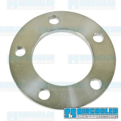 Spacer, 5x112mm, 3/8in Thick, 14mm Holes, Aluminum