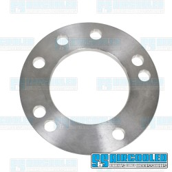 Spacer, 4x130/5x130mm, 3/8in Thick, 14mm Holes, Aluminum