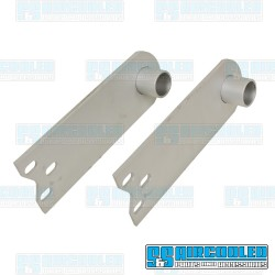 Spring Plates, 1-1/4in Collar, 21-3/4in Torsion Bar, Heavy Duty, IRS Axle, Silver
