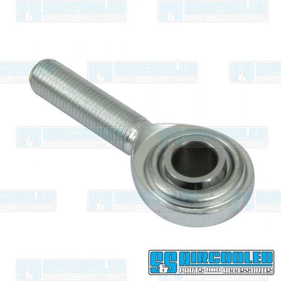 Clutch Slave Cylinder Heim Joint, 3/8in-24 Shaft, 5/16in Ball