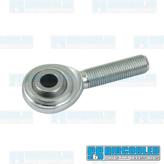Clutch Slave Cylinder Heim Joint, 3/8in-24 Shaft, 3/8in Ball