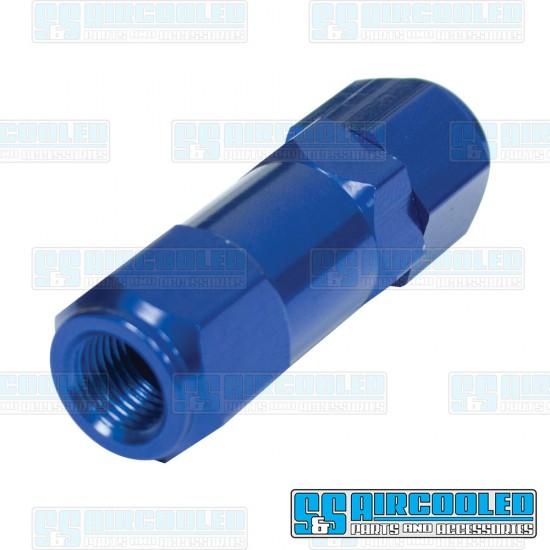 EMPI Residual Pressure Valve, 2psi, M10-1.0 Bubble Flare, Aluminum