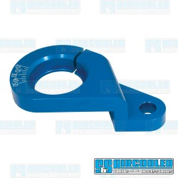 Distributor Clamp, Billet Aluminum, w/Ignition Timing Marks, Blue