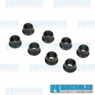 Nut, M8-1.25 Flanged 12 Point