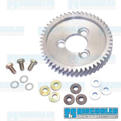 Camshaft Gear Kit, Helical Cut, Adjustable, Aluminum