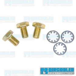 Camshaft Gear Bolts, Low Profile, w/Washers
