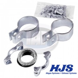 Clamp Kit, Exhaust, Bus, Muffler to Header, German, HJS