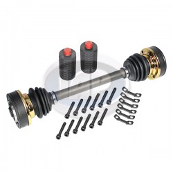 Axle Assembly, 100mm CV, Left or Right, China