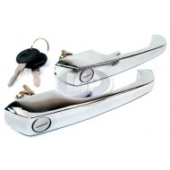 Door Handles, Outside, Left & Right, w/Keys