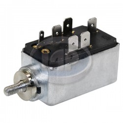 Headlight Switch, 6-Terminal, Push/Pull, 10mm Escutcheon