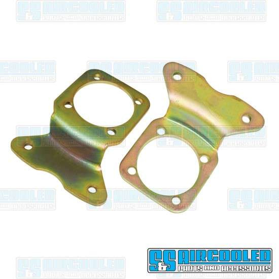 EMPI Disc Brake Kit, Rear, Blank, e-Brake, Stamped Brackets