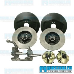Disc Brake Kit, Front, 4x130mm, Stock Spindle