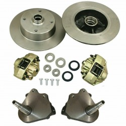 Disc Brake Kit, Front, 4x130mm, Drop Spindle