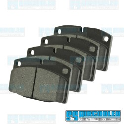 Brake Pads, Front, Left and Right, 2 Pin