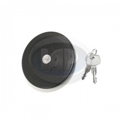 Gas Cap, Locking, Plastic