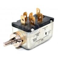 Headlight Switch, 6-Terminal, Push/Pull, 14mm Escutcheon